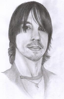 Anthony Kiedis by hallelujah